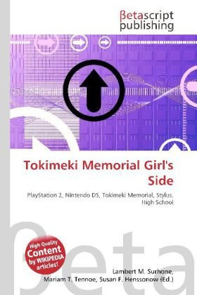 Tokimeki Memorial Girl's Side: PlayStation 2, Nintendo DS, Tokimeki Memorial, Stylus, High School