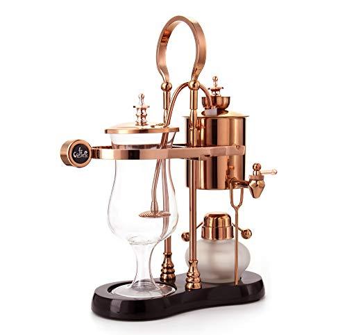 Diguo Belgian/Belgium Luxury Royal Family Balance Syphon Coffee Maker. Elegant Retro-Style Design....