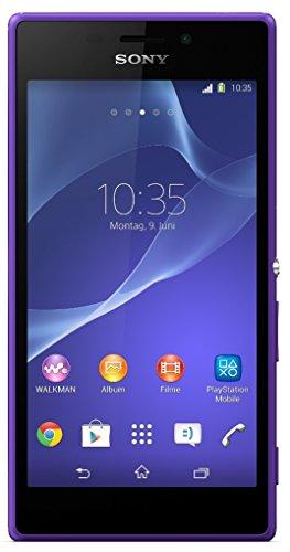 Sony Xperia M2 Smartphone (12,2 cm (4,8 Zoll) TFT-Bildschirm, 1,2 GHz Quad-Core-Prozessor, 1GB RAM, 8 Megapixel Kamera, NFC-fähig, Android 4.3) violett