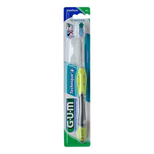 GUM Technique kompakt Zahnbürste medium 1 St