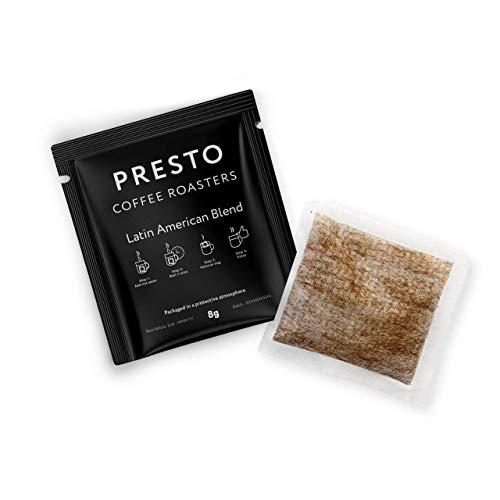 Presto Kaffeebeutel - Espressokaffee mit mittlerer Röstung - 100% Arabica - 50 x 8g
