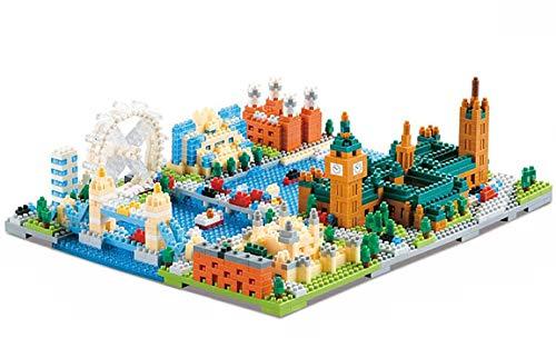 Modbrix Bausteine London Architektur Bauset Konstruktionsspielzeug 1652 Nano Klemmbausteine