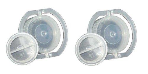 AQUAMON Blue Magic 2x Wasserbett Verschlussdeckel Verschlusskappen Deckel Stopfen Verschluss