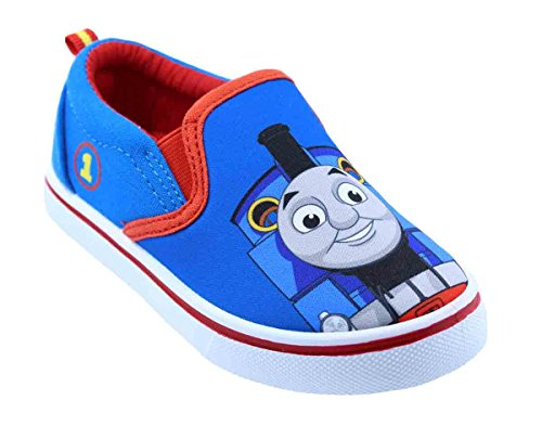 Toddler Boys Thomas The Train 61238 Canvas Shoes (5 M US Toddler) Blue and Red