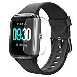 Puccy 3 Pack Screen Protector Film, compatible with Willful SW021 1.3' Smartwatch Smart Watch TPU Guard ( Not Tempered Glass Protectors )