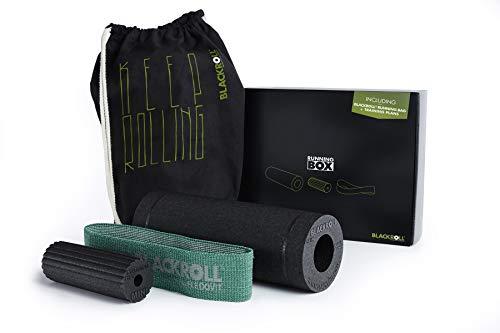 BLACKROLL Running Box. Faszien-Set für Läufer inkl. Faszienrollen & Trainingsband