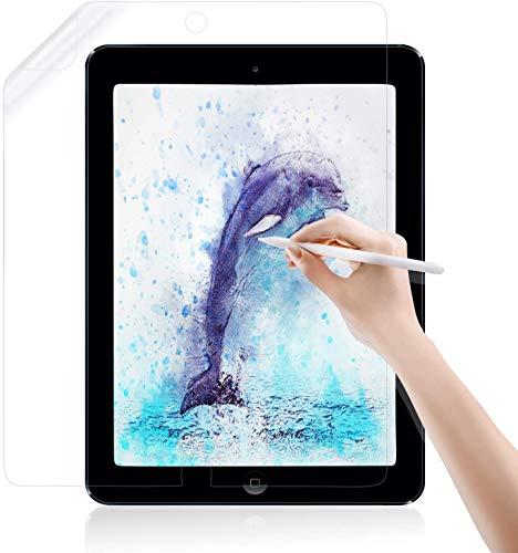 """Jelly Comb Papier Displayshutzfolie für iPad 10,2 Zoll 2020/2019, iPad Air 10,5"""" 2019 und iPad Pro 10,5 Schutzfolie Matt Panzerglas, Kompatibel mit iPad Pencil"""