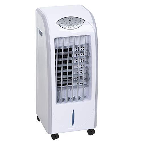 ADLER AD 7915 Mobile Klimaanlage, Aircooler, 3in1, Luftkühler, Luftreiniger, Luftbefeuchtung, 7 Liter, Ventilator, Klimagerät mit Fernbedienung, Timer, 3 Geschwindigkeitsstufen