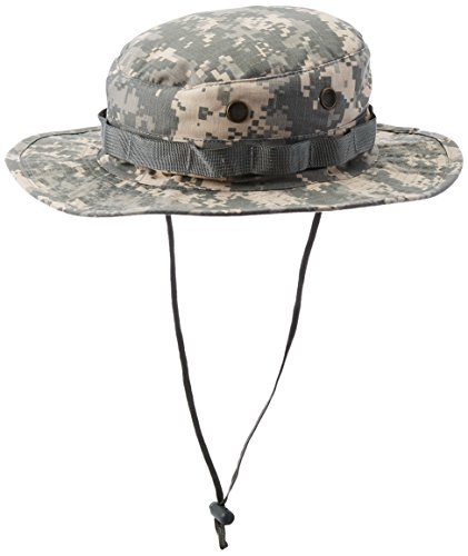 TrendBox Camo Boonie Militar Sun Bucket Cap Unisex Hat para Acampar Deportes