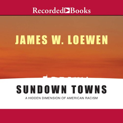 Sundown Towns audiobook cover art