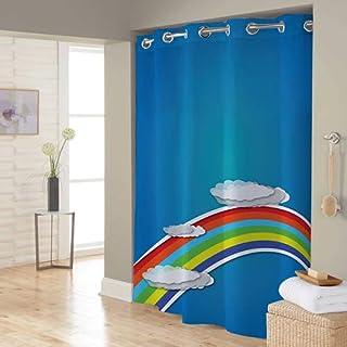 Right Canvas Blue 180cm x 200cm Shower Curtain - RG138NPIC00093