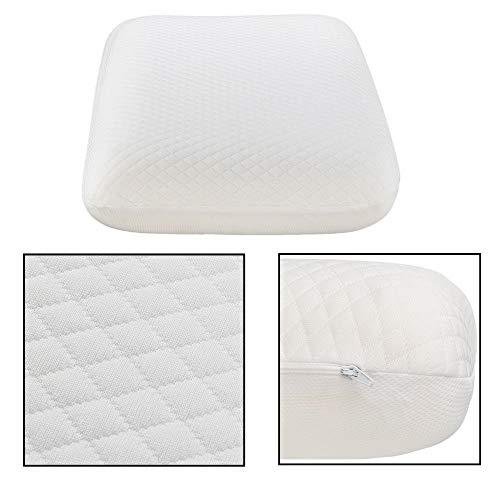 2ci Yanz Contour Pillow Soft Cervical Pillow – Memory Foam Orthopedic Pillow – Premium Neck Support Pillow – Best Cervical Neck Pillow for Side & Back Sleeper