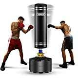 Freestanding Punching Bag, Kitopa 69 Inch Heavy Punching Bag with Suction Cup Base for Adult Youth Men Maximum 182 lb Stand Kickboxing Bags Kick Punch Bag (Black)