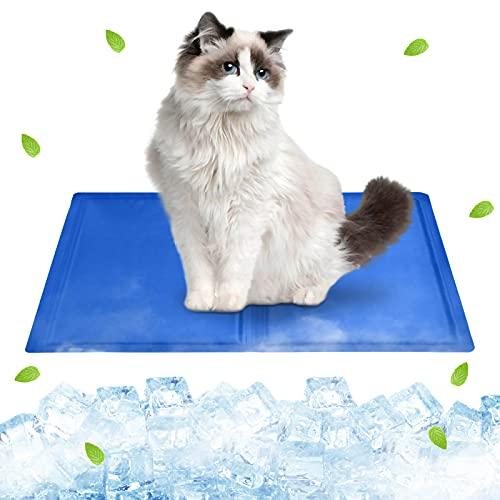 Tappetino refrigerante cane(40*30cm),tappetino refrigerante gatto,Tappetino Refrigerante in Gel per Animali Domestici,Non tossico