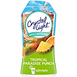 Crystal Light Liquid Tropical Paradise Punch Energy Drink Mix with Caffeine (1.62 oz Bottle)