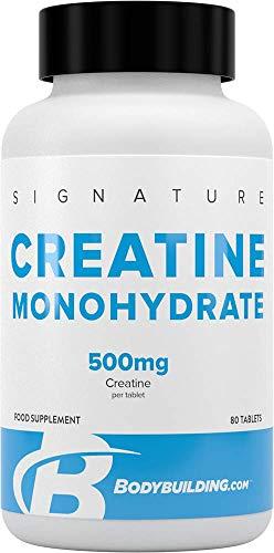 Bodybuilding.com Signature Signature Creatine Monohydrate 80 Tablets