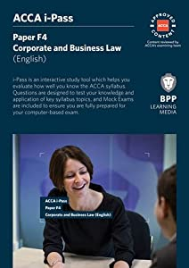 Get ACCA F4 Corporate and Business Law English iPass | I6M