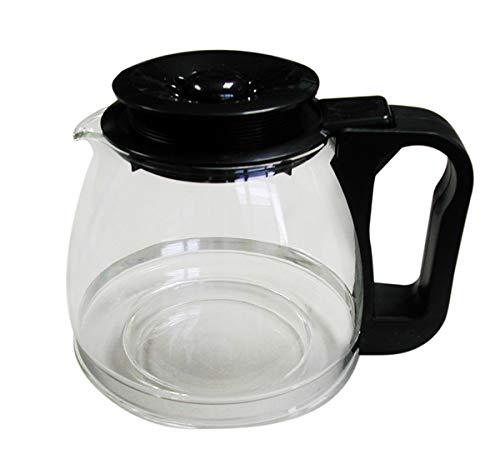 Tecnohogar 00566Universal-Glaskaffeekanne, schwarz