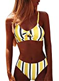 Yutdeng Bikini Mujer Conjuntos Push up Traje de Baño Dos Piezas Ajustable...