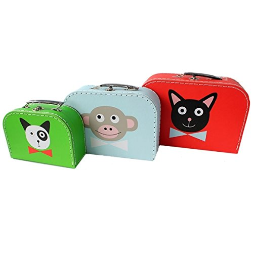 Pellianni Kofferset Kat, aap en hond!