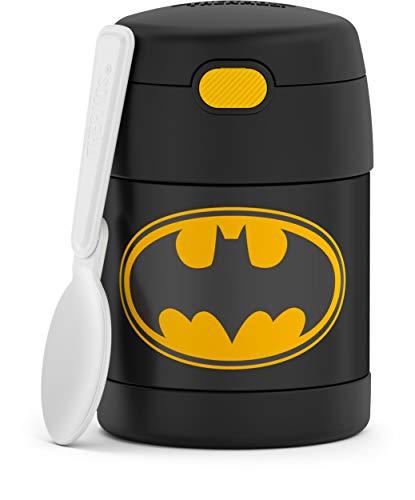 THERMOS FunTAINER 283 g de aço inoxidável isolado a vácuo para crianças, Batman