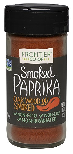 Frontier Smoked Ground Bottle, Paprika, 1.87 Ounce