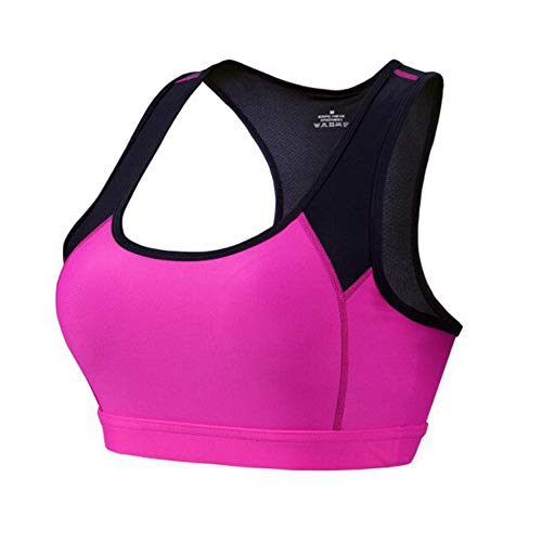 Profesional Absorber Sweat Top Athletic Running Sports Bra Gym Fitness Top Women Seamless Padded Vest