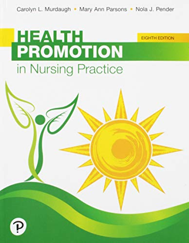 Download Health Promotion in Nursing Practice (8th Edition) 0134754085
