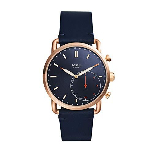 Fossil Herren Analog Digital Uhr mit Leder Armband FTW1154