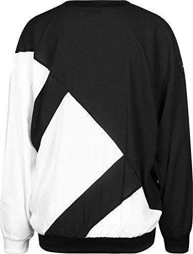 Womens adidas Originals EQT Crew Sweatshirt in black / white.