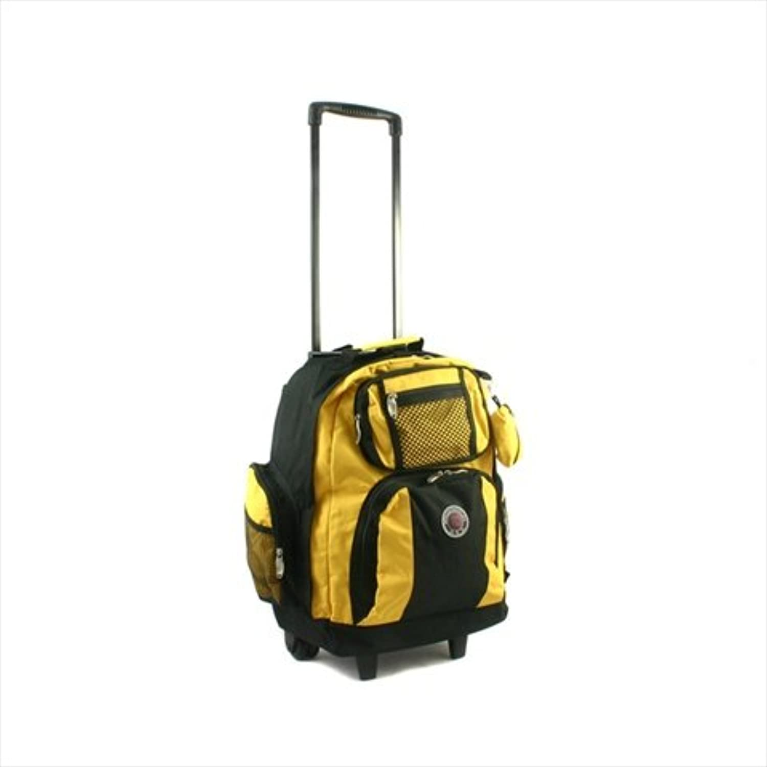Transworld RollAway Deluxe Rolling Backpack  Yellow