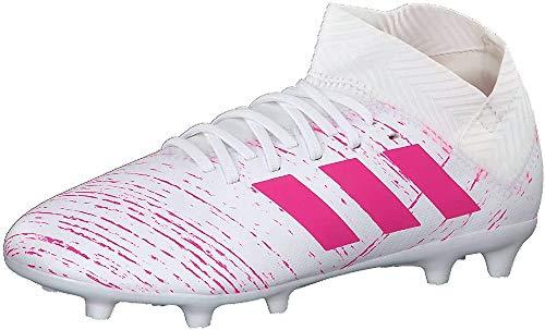 Adidas Nemeziz 18.3 FG J, Zapatillas de Deporte Unisex niño, Multicolor (Ftwbla/Rossen/Rossho 000), 35.5 EU