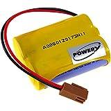 Pila de Litio PLC para Panasonic Modelo BR-AGCF2W, 6V, Lithium-Mangandioxid