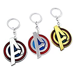 35 Amazing Marvel Gift Ideas featured by top US Disney blogger, Marcie and the Mouse: Avengers keychains