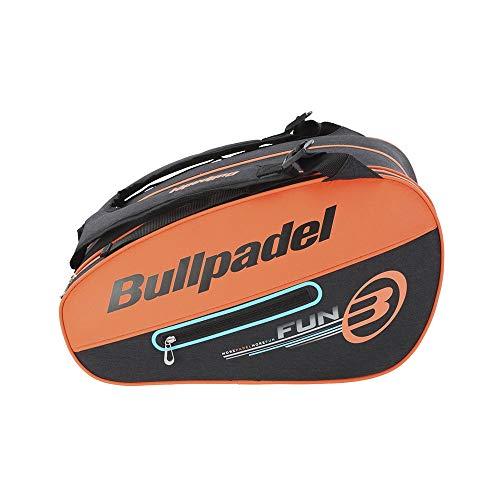 Bull padel Bolsa BULLPADEL BPP-21004 Tour 529 Paletero, Adultos Unisex, Naranja Fluor (Naranja), Talla Única
