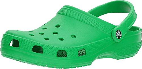 Crocs Classic Clog, Unisex – Adulto, Verde (Grass Green), 48/49 EU