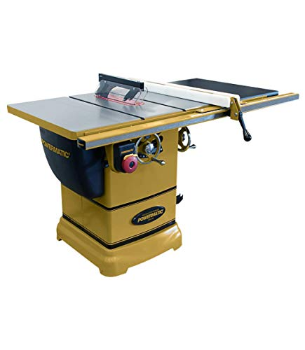 """Powermatic PM1000 10"""" Table Saw with 30"""" Accu-Fence System (1791000K)"""