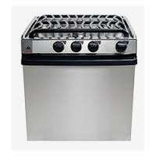 Atwood (52815 3-Burner Range/Oven with Piezo Ignition