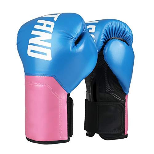 Guantes de boxeo para mujeres, guantes entrenamiento con muñequera ensanchada - Transpirable, forro amortiguación de EVA - para entrenamiento de combate de Muay Thai Sparring y Kickboxing para mujeres