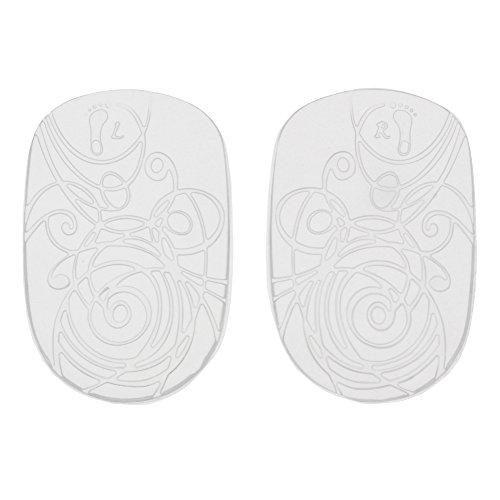 Bama Comfort Gel-Fersenkissen, Polsterung für die Fersen, Schuh-Einlegesohle für Damen, Größe: ONE Size, Transparent