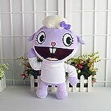 N-R Stuffed Toys Happy Tree Friends Plush Dolls Anime HTF Flippy Plush Toys Soft Lammy 35CM