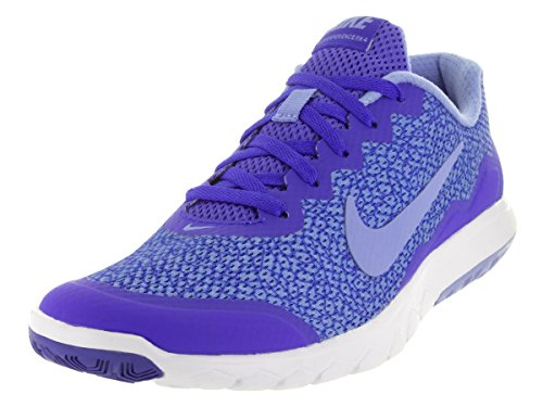 Nike Wmns Flex Experience RN 4 Prem, Scarpe da Corsa Donna, Azul (Racer Blue/Chalk Blue-White), 41
