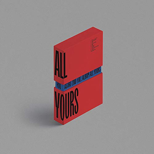 ASTRO - All Yours (Vol.2) Album+Folded Poster+Extra Photocards Set (YOU ver.)