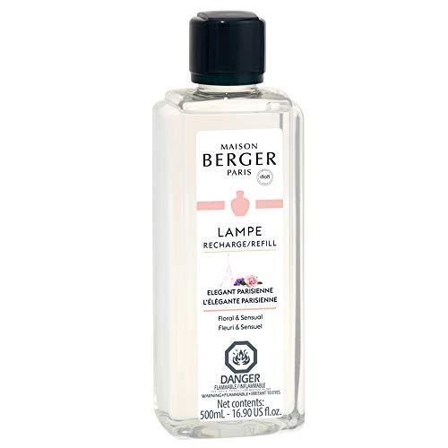 Elegante Parisienne - Lampe Berger Fragrance Refill for Home Fragrance Oil Diffuser - 16.9 Fluid Ounces - 500 milliliters