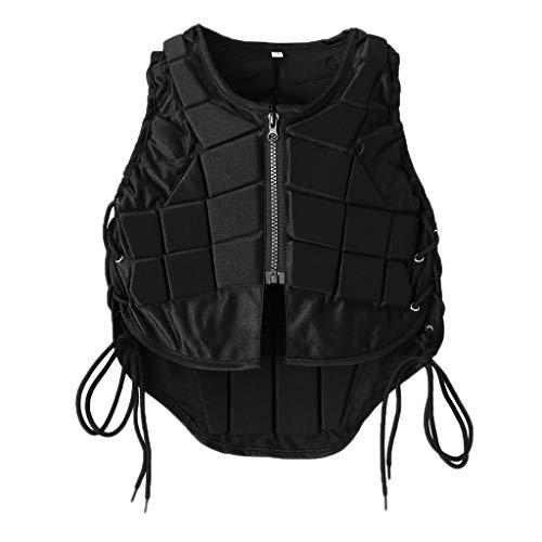 JVNXMW Reitweste Sicherheit Reitsport Eventer Body Protector Schutzweste für Kinder Erwachsene Men XL