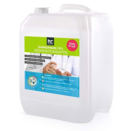 5 L Zugelassenes Desinfektionsmittel für Hände & Flächen - anwendungsfertig - auch geeignet für Lebensmittelindustrie