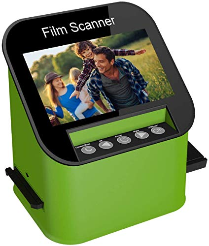 DIGITNOW Digital Film & Slide Scanner, Converts 35mm, 110 & 126 and Super 8 Films & 8mm Film Negatives & Slides to 22 Megapixel JPEG Images Includes 4.3 Inch TFT LCD Display