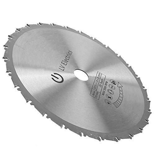 Hoja de sierra circular circular, hecha de aleación dura de corte suave de sierra deslizante de corte de sierra de carburo cementado