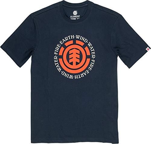 Element Seal SS T-Shirt, Uomo, Eclipse Navy, XS