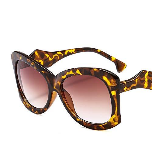 Taiyangcheng Polarisierte Sonnenbrille Weinlese-übergroße Sonnenbrille-Frauen-Luxusmarkendesigner-Süßigkeits-Steigungs-Rahmen-Sonnenbrille-großer Rahmen-Brillen Uv400,A7